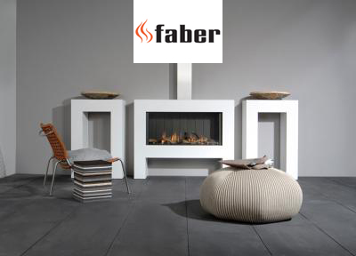 Faber gashaarden Natural fires collectie